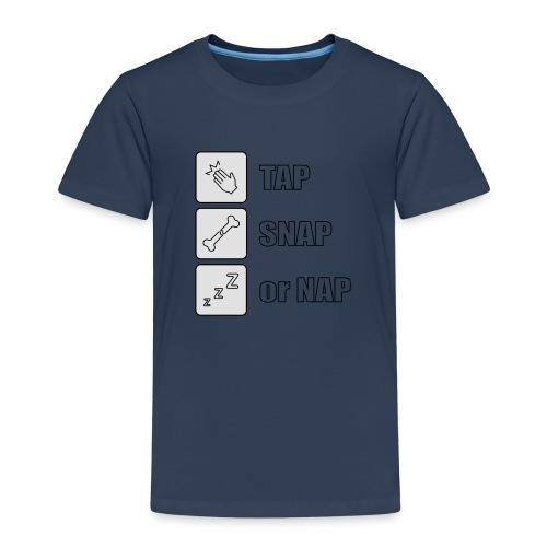 tap snap or nap - Koszulka dziecięca Premium