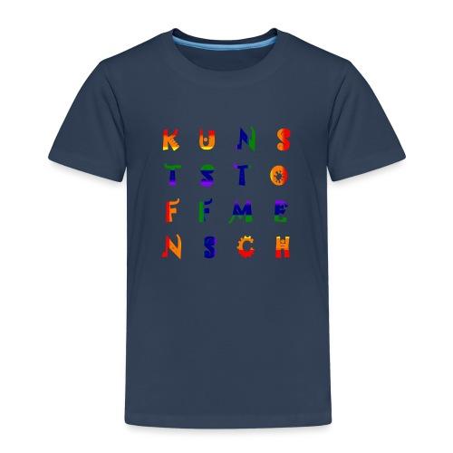 KunstStoffMensch #6 - Rainbow Edition - Kinder Premium T-Shirt