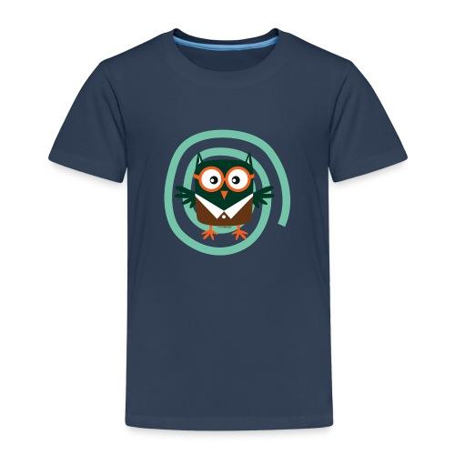 School Owl - Textile and gift products FP10-54 - Lasten premium t-paita