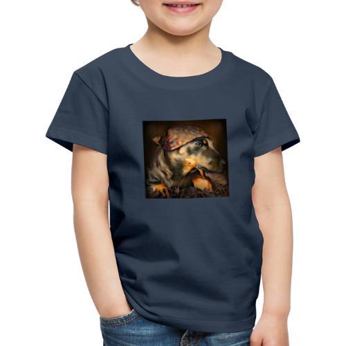 Biker Pinia - Kinder Premium T-Shirt