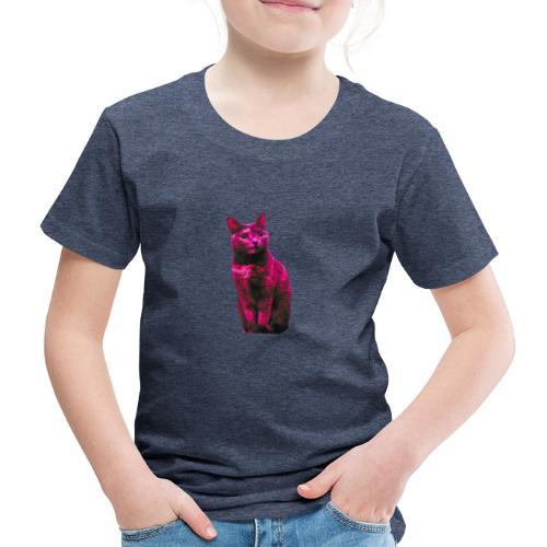 Gatto - Maglietta Premium per bambini