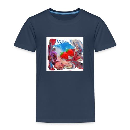 Wilde Erdbeeren - Kinder Premium T-Shirt