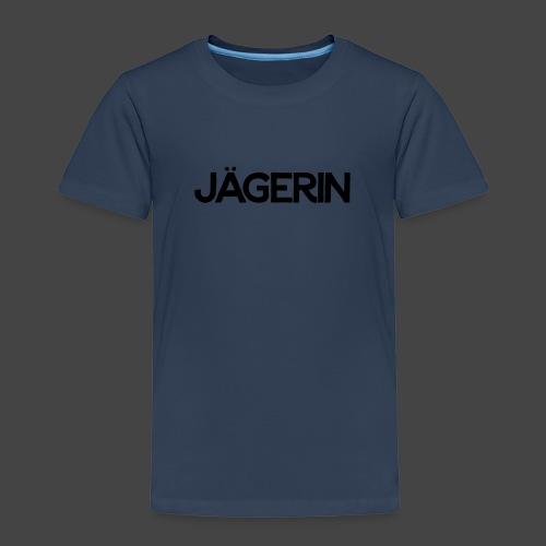 Jägerin-Shirt - Kinder Premium T-Shirt