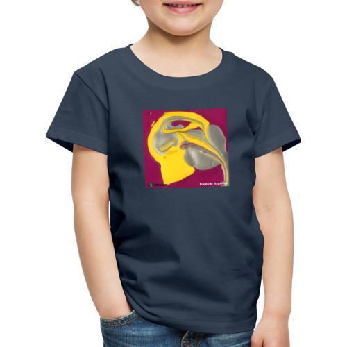 TIAN GREEN Welt Mosaik - CH071 Forever together - Kinder Premium T-Shirt
