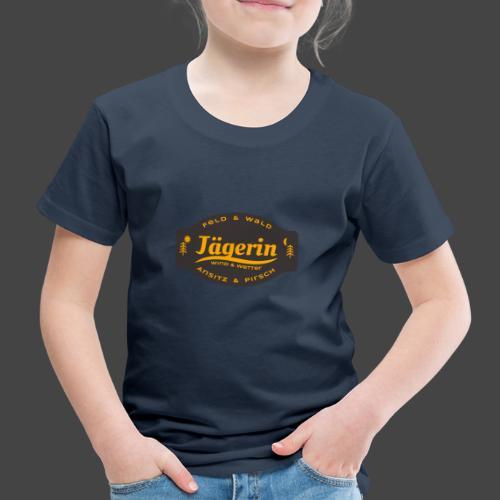 Das Jägerin-Shirt für aktive Jägerinnen - Kinder Premium T-Shirt