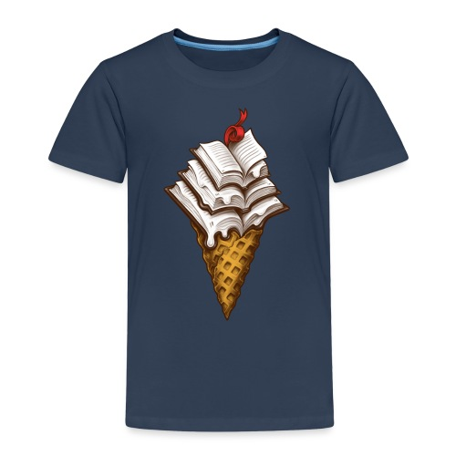 Ice Cream Books - Kids' Premium T-Shirt