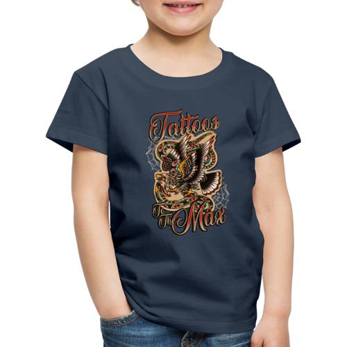 Tattoos to the Max - Eagle - Kinder Premium T-Shirt