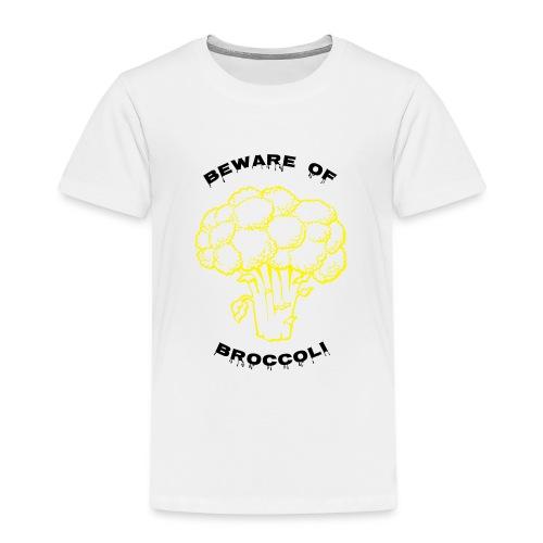 Beware of Broccoli Smaller - Kids' Premium T-Shirt