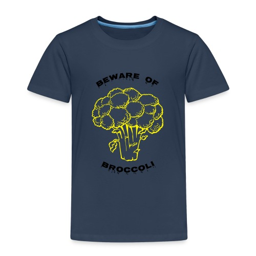Beware of Broccoli Smaller - Kids' Premium T-Shirt