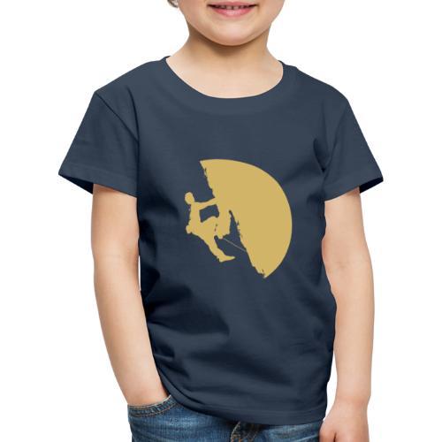 Tufa Kletterer gelb - Kinder Premium T-Shirt