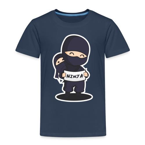 ninja 3106460 1280 - Kinder Premium T-Shirt