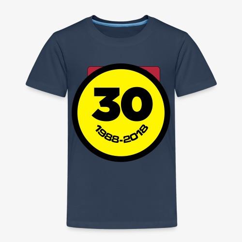 30 Jaar Belgian New Beat Smiley - Kinderen Premium T-shirt