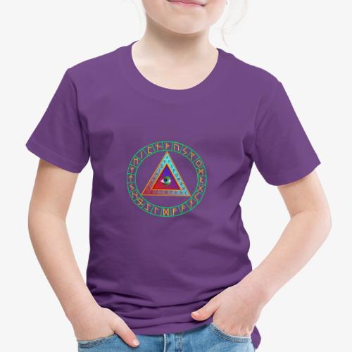 Runendreieck im Kreis - Kinder Premium T-Shirt