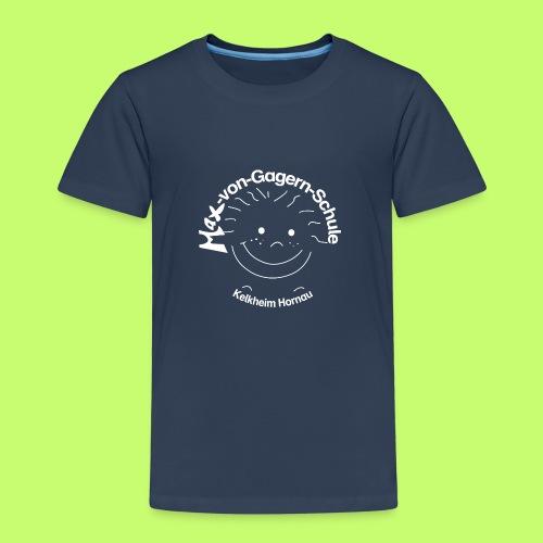 Mäxchen Logo weiß - Kinder Premium T-Shirt