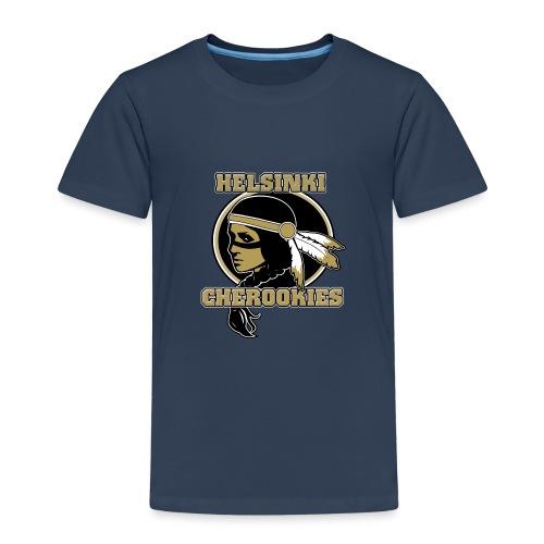 HLC Cherookies LOGO Rich gold - Lasten premium t-paita