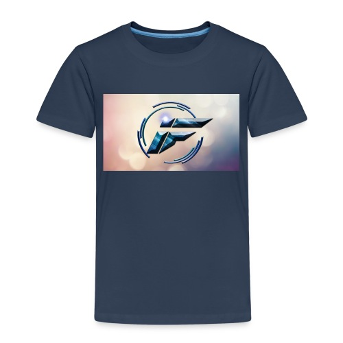 Logo and background - Kids' Premium T-Shirt