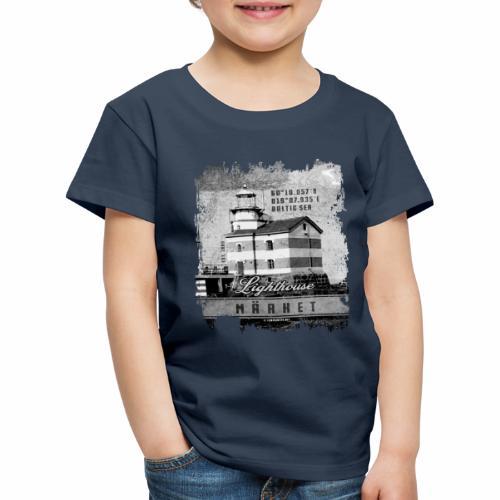 Märket majakkatuotteet, Finland Lighthouse, Harmaa - Lasten premium t-paita
