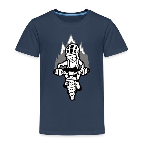 Singletrailsurfer - Kinder Premium T-Shirt