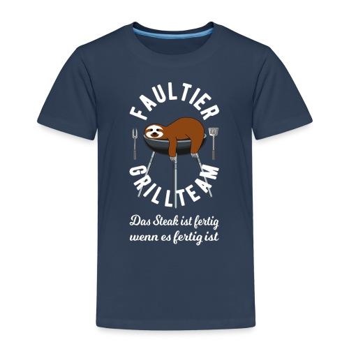 Faultier Grillteam - Kinder Premium T-Shirt