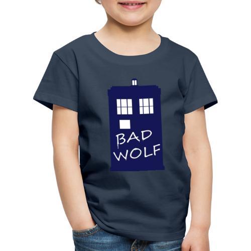 Bad Wolf Tardis - T-shirt Premium Enfant