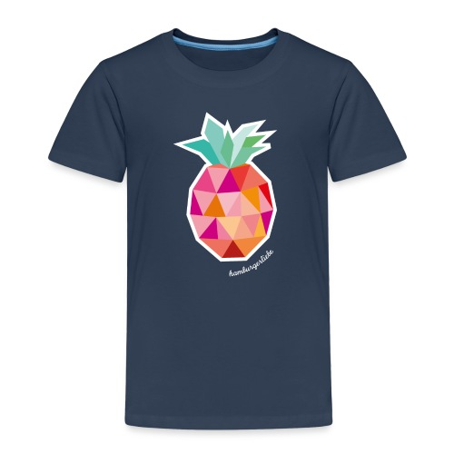 Pineapplelada Pink - Kinder Premium T-Shirt