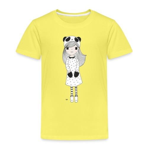 panda meisje - Kinderen Premium T-shirt