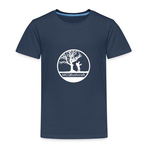 MCQBushcraft Logo light - Kids' Premium T-Shirt