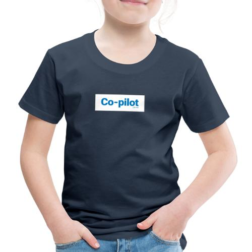 Co-pilot (White) - Kids' Premium T-Shirt
