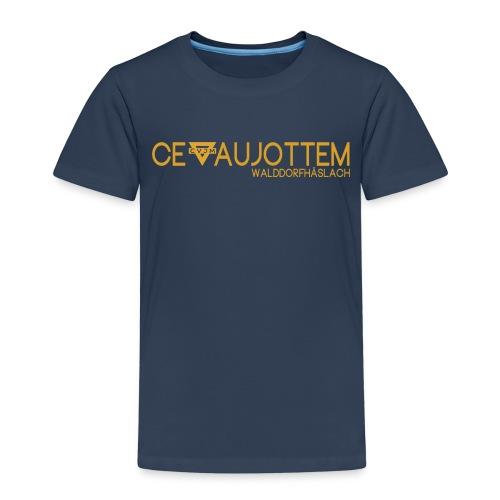 motiv1 gold png - Kinder Premium T-Shirt