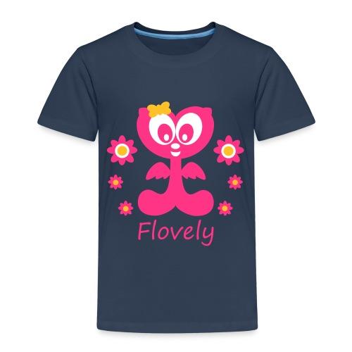 Flovely mit Blumen - Kinder Premium T-Shirt