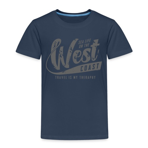 West Coast Sea surf clothes and gifts GP1306B - Lasten premium t-paita