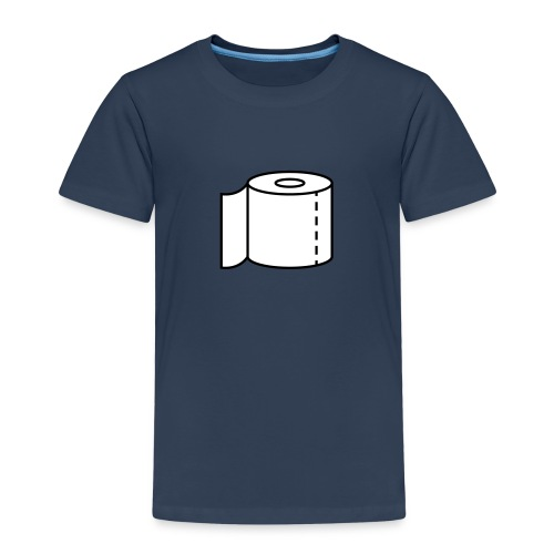 Klopapier für den Notfall - Kinder Premium T-Shirt