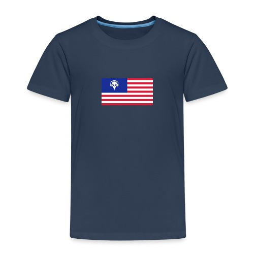 Football T-Shirt USA - Kids' Premium T-Shirt
