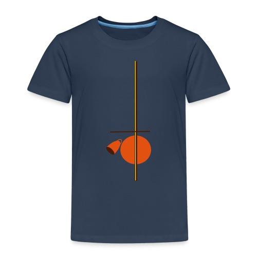 berimbau caxixi - Kids' Premium T-Shirt