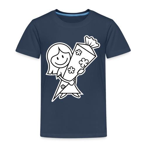 vl028b_schulanfang_2c - Kinder Premium T-Shirt