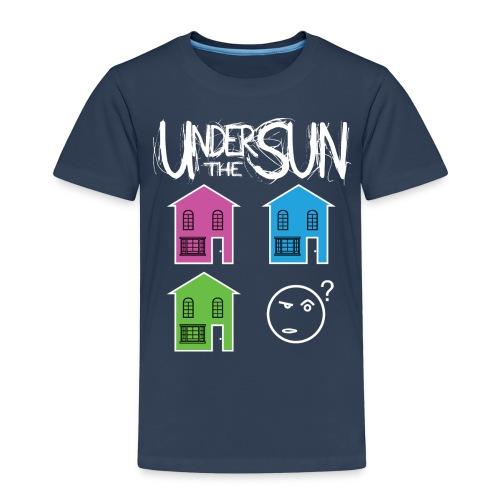 House White on Black png - Kids' Premium T-Shirt