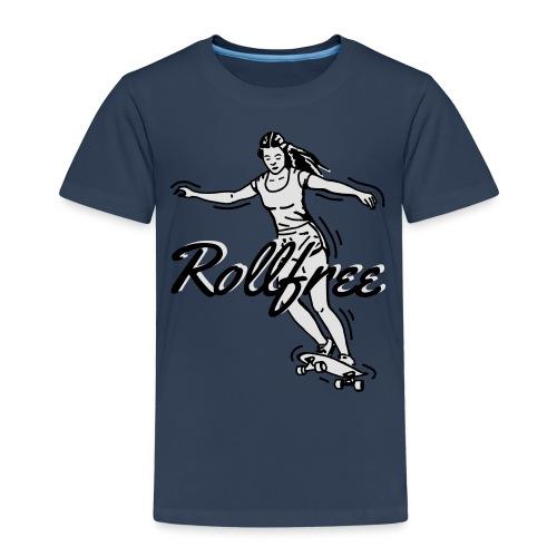 Skatergirlz - Rollfree 01 - Kinder Premium T-Shirt