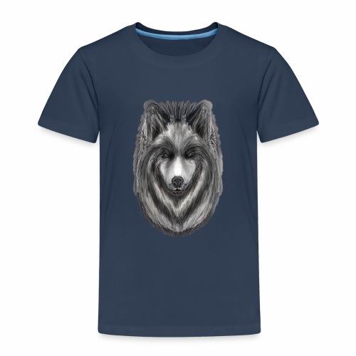 Foxy Wolf by Jon Ball - Kids' Premium T-Shirt