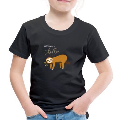 Auftragstchiller Super Cutes und Lustiges Design - Kinder Premium T-Shirt