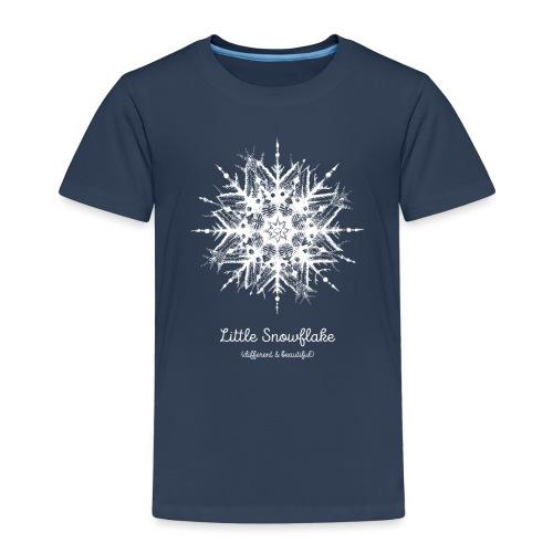 Schneeflocke Weihnachten Liebe Geschenk Kinder - Kinder Premium T-Shirt