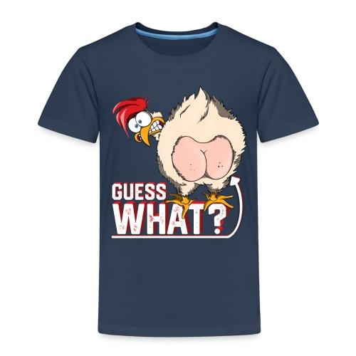 GuessWhat Chicken Butt | Chicken Lover Farm - Maglietta Premium per bambini