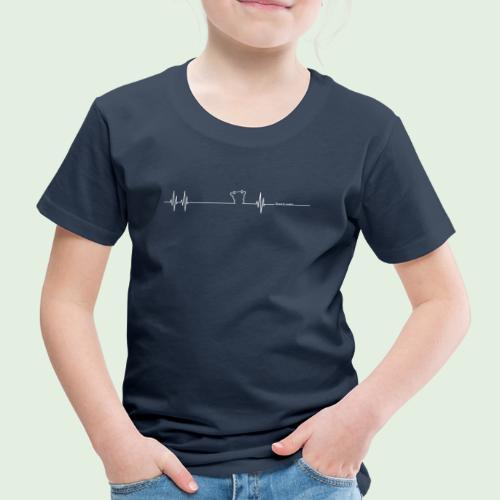 Herzschlag Grenzlandeis - Kinder Premium T-Shirt