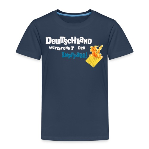 Schrift und Pass 300P png - Kinder Premium T-Shirt