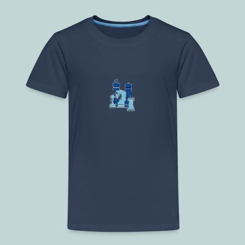 figurengruppeblau2kanten - Kinder Premium T-Shirt