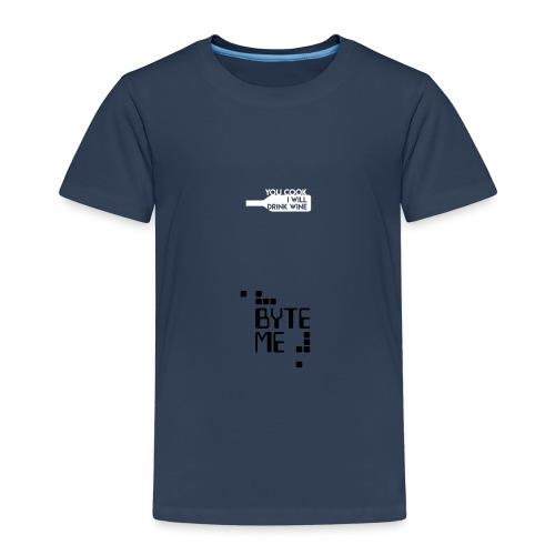 ByteMe - Børne premium T-shirt