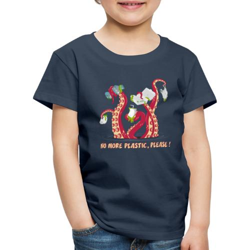 No more plastic ! - T-shirt Premium Enfant