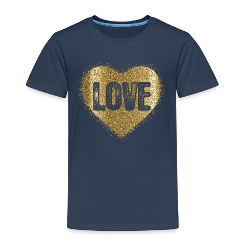 Heart-5 - Kinder Premium T-Shirt