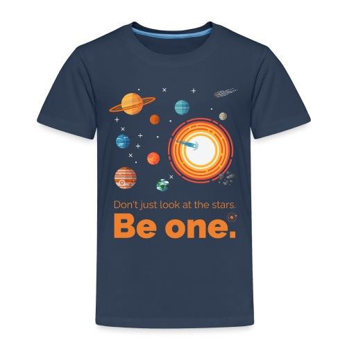 Be a star - dark edition - Kinder Premium T-Shirt