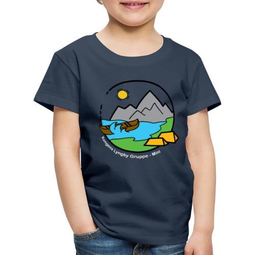 Mini_hvid - Børne premium T-shirt