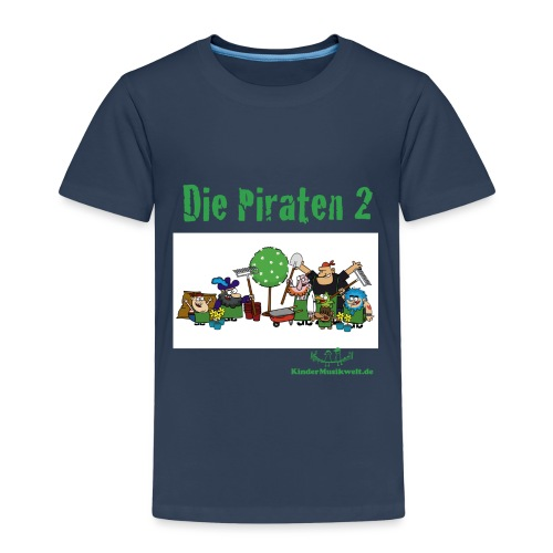 Piraten 2 Gartenarbeit - Kinder Premium T-Shirt